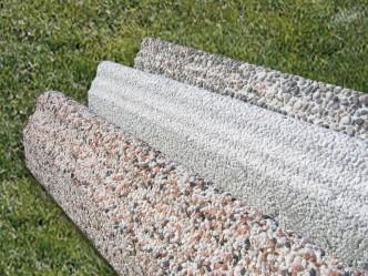 Bordillos de granito para jardín