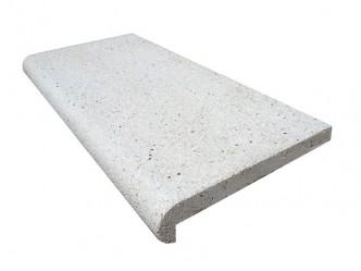 Remate de piscina recto tipo A en piedra artificial